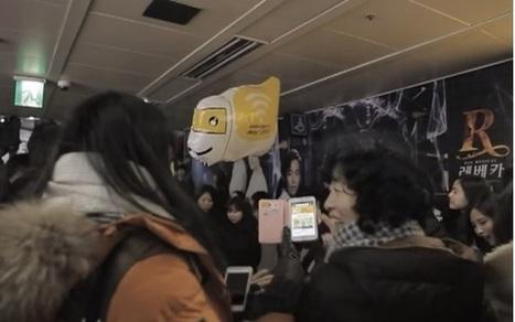 Les coréens inventent le supermarché volant | Nouvelles technologies actu | Scoop.it