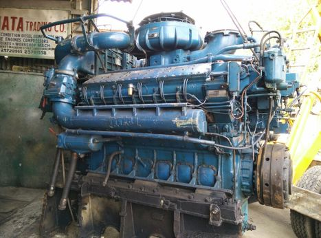 MTU 12V538 marine propulsion motor with gearbox for sale | Business & Market Trends | Scoop.it
