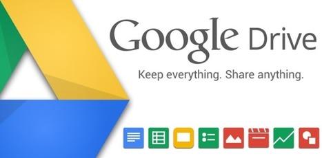 Google Drive s'étoffe avec un flux d'activités | Education & Numérique | Scoop.it
