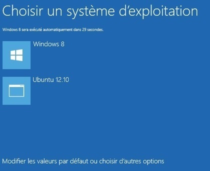 Dual-boot Windows 8 et Ubuntu 12.10 / 13.04 | GTSUP- L'informatique avancée | Scoop.it