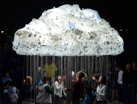 Atelier Decor: CLOUD, ephemeral installation_by Caitlind Brown | Ephemeral Installations and urban intervention | Scoop.it