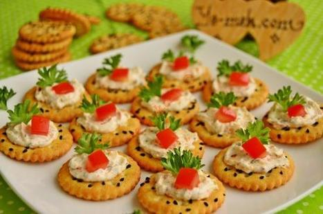Spicy Cheese Canapes Recipe | Recipes (From Turkish Cuisine) In English | Healthy Eating - Recipes, Food News | Scoop.it
