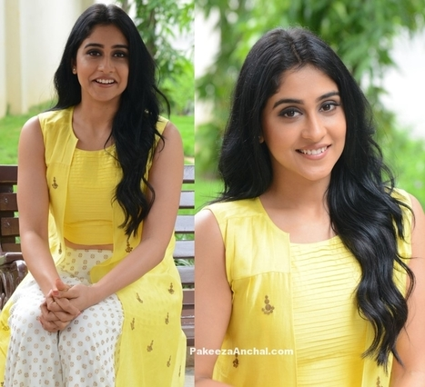 Regina Cassandra in Yellow Crop top & Palazzo | Indian Fashion Updates | Scoop.it