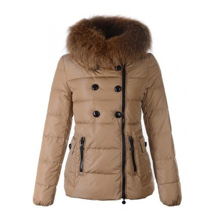 Moncler Donne Giacca Courte 12W Marrone Vendesi Online | fashion | Scoop.it