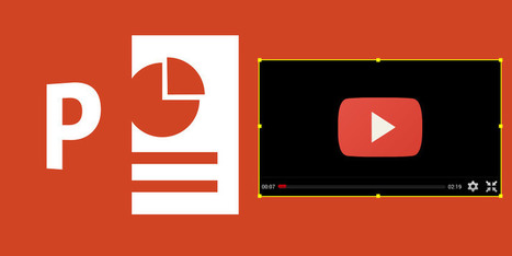How To Embed A YouTube Video & Other Media In Your PowerPoint Presentation | EFL and ESL Techno Skills | Scoop.it