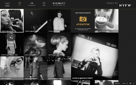 French Design Index Award › Faces of New York Fashion Week by Socius   Web advertising   Scoop.it