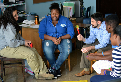 Kids on Chicago's West Side Break the School-to-Prison Pipeline with Restorative Circles | Humanizing Justice | Scoop.it