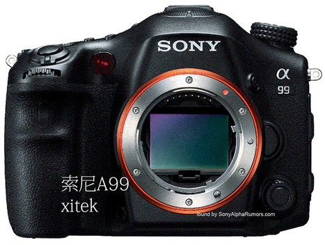 First Leaked Photo of the Sony A99, the First Full Frame Pellicle Mirror Camera | Filmmaking & Filmmakers | Scoop.it