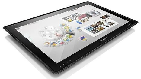 Supersize me: Lenovo unveils coffee table PC for the entire family   Gizmos and gadgets   Scoop.it
