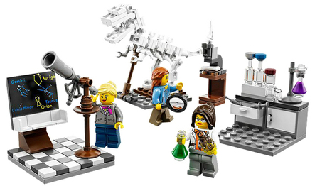 Lego Releases Female Scientists Set; May Appease 7-Year-Old Critic | Kickin' Kickers | Scoop.it