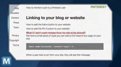 Pinterest Allows Websites to Opt Out of Pinning | actualités reseaux sociaux | Scoop.it