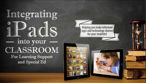Integrating iPads into your Classroom: For Learning Support and Special Ed | 2013    Workshops in Brisbane, Cairns, Sydney, Melbourne, Hobart, Adelaide, Auckland and Perth! | The Spectronics Blog | Digital technologies for Special Needs Students | Scoop.it