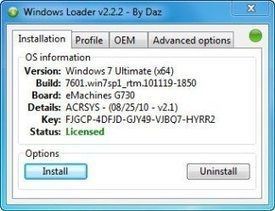 Windows 7 Loader by Daz Final Activator Full Free Download | Fullversion PC Softwares Free Download | Scoop.it