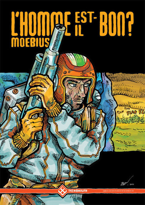 The Inscrutable Imagination of the Late Comic Artist Mœbius | Cinema Zeal | Scoop.it