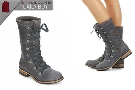 Daily Buy: Caterpillar JOE Castle / Rock Raw Collection Long Boots   StyleCard Fashion Portal   StyleCard Fashion   Scoop.it