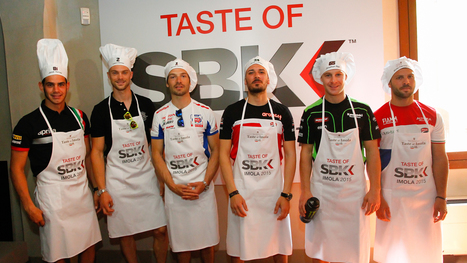 WorldSBK riders display their culinary skills at Imola pre-event | Ductalk Ducati News | Scoop.it