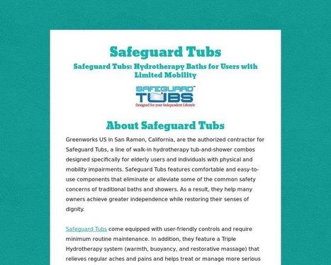 About Safeguard Tubs - Tackk.com | Safeguard Tubs | Scoop.it
