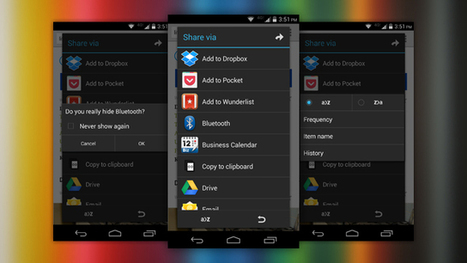 """AppChooser Cleans and Customizes Android's """"Share"""" Menu 