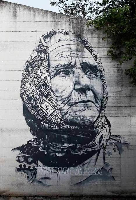 The Trades: Street Artist ECB Traces Morocco's Faces - Huffington Post | Arts & luxury in Marrakech | Scoop.it