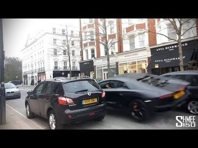 Lamborghini Aventador Crashes Into 3 Cars In London (Video) - Business 2 Community | Digital-News on Scoop.it today | Scoop.it