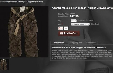"""The Strange Story Behind Abercrombie & Fitch's """"Racist Pants"""" - Complex.com (blog)   MicroAggressions (Focus) + Not So Subtle   Scoop.it"""