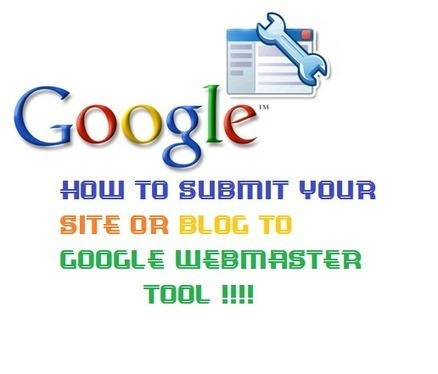 How to submit your site or blog to Google webmaster Tool - Blogging Engage | Search Engine Optimization (SEO) | Scoop.it