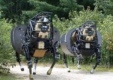 Latest AlphaDog Robot Prototypes Get Less Noisy, More Brainy - IEEE Spectrum | Robotics Frontiers | Scoop.it