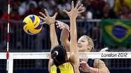 US women fall in volleyball final to Brazil - Los Angeles Times   london-olympics-4kiddies   Scoop.it