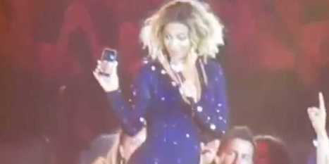 Beyoncé Stops Concert To FaceTime With Fan's Phone - Business Insider | keyTelecom Weekly | Scoop.it