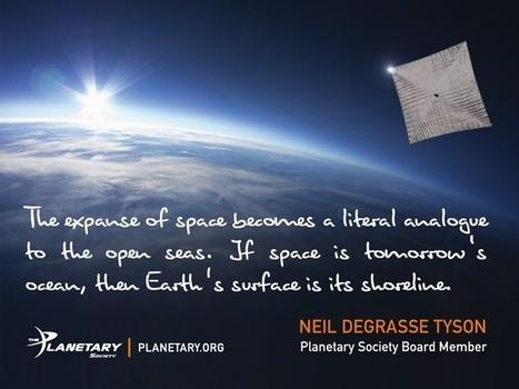 LightSail: A Revolutionary Solar Sailing Spacecraft | Third Industrial Revolution | Scoop.it