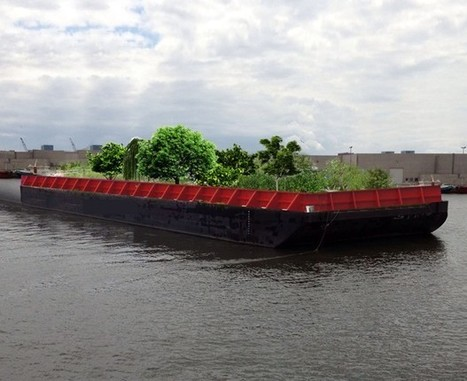 Now You Can Gather Fresh Food From a Barge in New York City's Rivers | Agriculture, Food Production & Rural Land Use Knowledge Base | Scoop.it