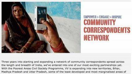 Community Correspondents Network: el vídeo como arma contra la injusticia social en India   Periodismo Ciudadano   Periodismo Ciudadano   Scoop.it