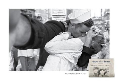 Des photos historiques célèbres transformées en selfies | CRAKKS | Scoop.it