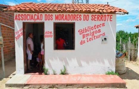 A 12 ans, une petite Brésilienne crée une bibliothèque dans son village | librairies et bibliothèques | Scoop.it