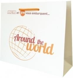 Un sac luxe pour célébrer l'association de la chaine MCM et June   Sac luxe publicitaire   Scoop.it