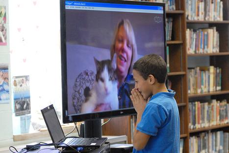 Tiverton middle schoolers take virtual trek to Iowa author's home | TMS Rocks! | Scoop.it