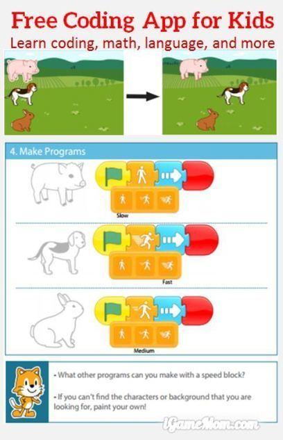 Free App: Scratch Jr Coding App for Young Children   Edtech PK-12   Scoop.it