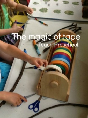 The magic of tape | Early Childhood Education | Scoop.it