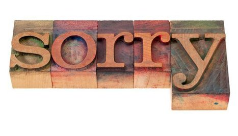 "How to Say ""Sorry"" in Customer Experience Failures 