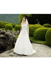 A Line Sweetheart Court Train Tulle Ivory Wedding Dress H1ly0034 for $923 | Landybridal 2014 wedding dress | Scoop.it