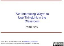 73+ Ways to Use ThingLink by Donna Baumbach | WEB 2.0 Amazing Blogs and Resources | Scoop.it
