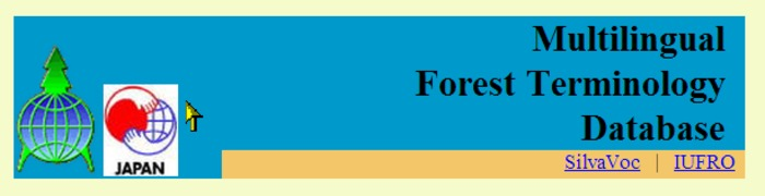 (MULTI) - Multilingual Forest Terminology Database | affrc.go.jp | Glossarissimo! | Scoop.it
