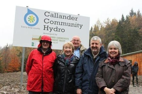 Callander hydro power project is praised at official launch - Scottish Daily Record | micro hydro | Scoop.it