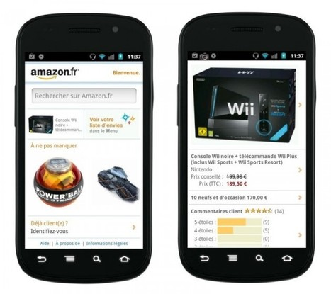Amazon.fr, l'application disponible sur l'Android Market «  FrAndroid Communauté Android | Application Android | Scoop.it