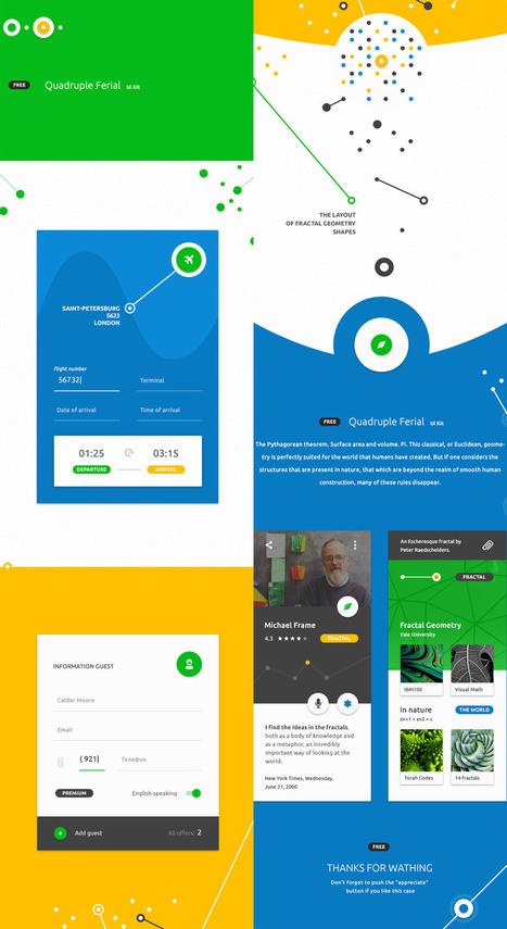 [#Ressources] #MaterialDesign UI Kits | la veille du consultant formateur internet | Scoop.it