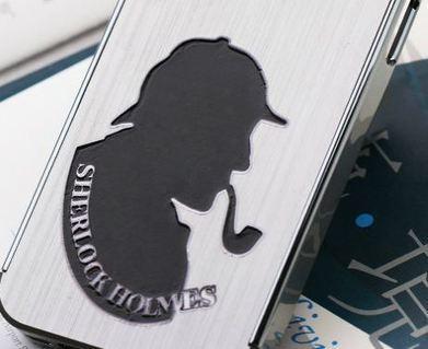Sherlock Holmes metallic iPhone 4, 4S protective c