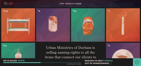 "10 Web Designs Inspire Including ""Names For Change"" From Durham Urban Ministries 