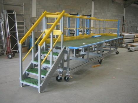 Manufactures aluminium Access platforms in UK   Aluminium Structures   Scoop.it