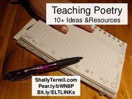 Teaching Poetry: 10+ Resources & Ideas | Mundos Virtuales, Educacion Conectada y Aprendizaje de Lenguas | Reportero Frank | Scoop.it