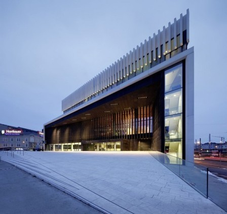 Opera House Linz / Terry Pawson Architects - ArchDaily | Architecture and Architectural Jobs | Scoop.it
